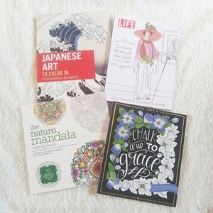 Coloring Books Set of 4